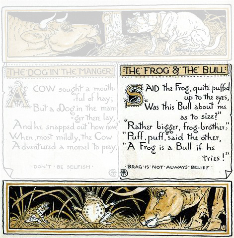 Frog and Bull