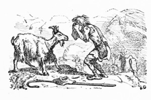 Goatherd and She-Goat