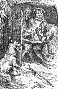 Wolf and Shepherds