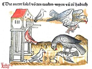 095-Book-2-Fable-2-Of-the-Doves-the-Kite-and-the-Falcon