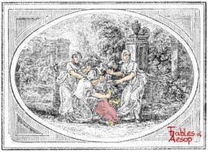 Bewick-0069-Old-Woman-and-Maids