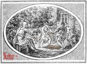 Bewick - 0125 - Old Man and Sons