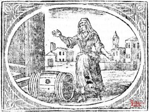 Croxall - Old Woman and Empty Cask
