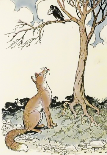 The Fox and The Crow - Fables of Aesop