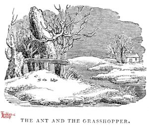 Whittingham - Ant and Grasshopper