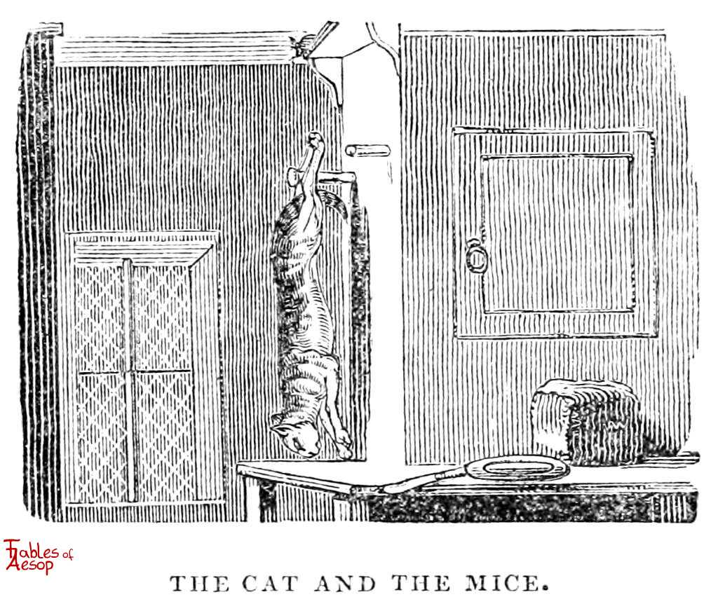 The Cat and The Mice - Fables of Aesop