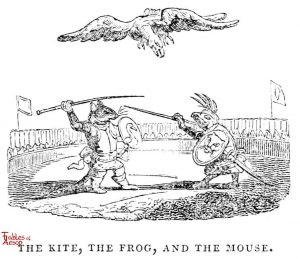 Whittingham - Kite, Frog and Mouse
