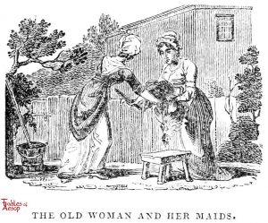 Whittingham - Old Woman and Maids