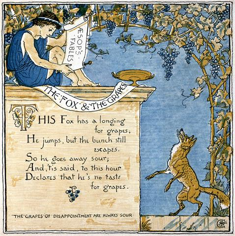 The Fox and The Grapes - Fables of Aesop