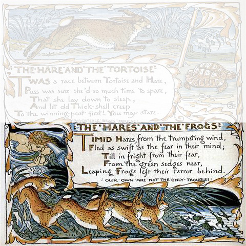 Hares and Frogs