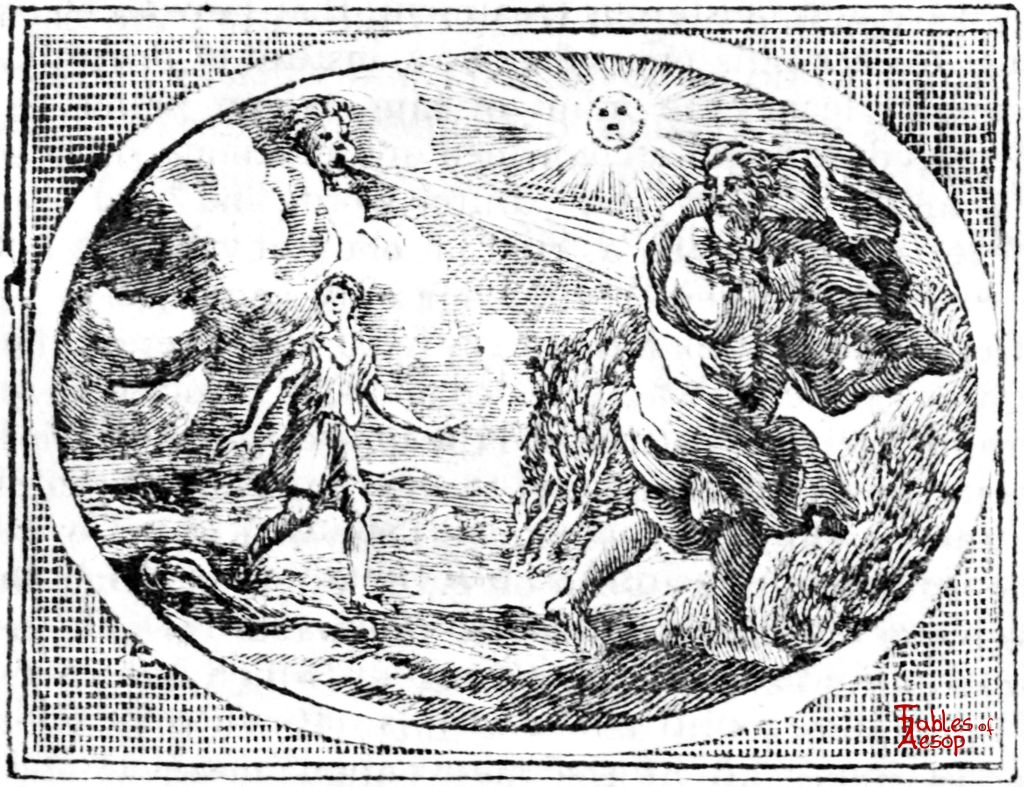 The North Wind and The Sun - Fables of Aesop
