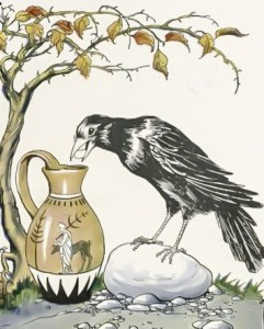 Crow and Pitcher
