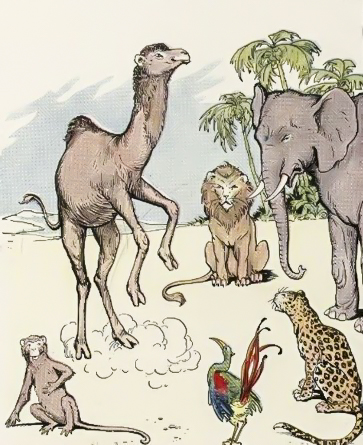 the arab and the camel moral