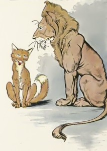 Fox and Lion