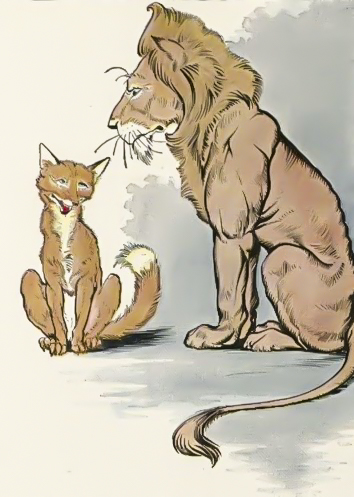 Image result for aesop's fables the lion and the fox