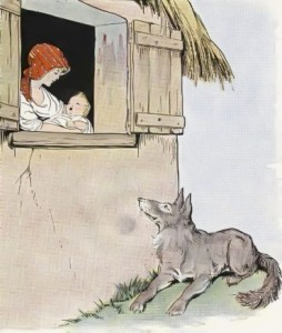 Mother and Wolf