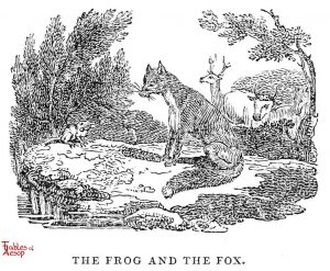 Whittingham - Frog and Fox