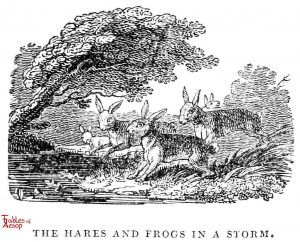 Whittingham_ - Hares, Frogs in Storm