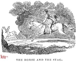Whittingham - Horse and Stag