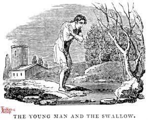 Whittingham - Young Man and Swallow
