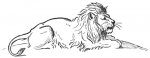 Lion and Beasts C1