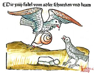 085-230-Book-1-Fable-14-Of-the-Lark-the-Snail-and-the-Crow