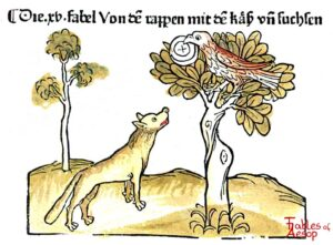 086-124-Book-1-Fable-15-Of-the-Crow-and-the-Fox