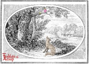 Bewick-0101-Fox-and-The-Crow