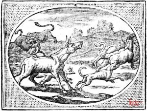 Croxall - Ass and Lion Hunting