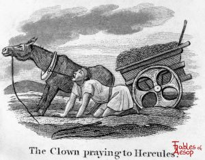 Taylor - Clown Praying to Hercules 0031