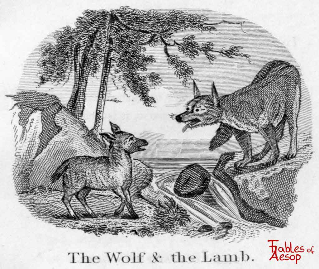 the wolf and the lamb fables of aesop
