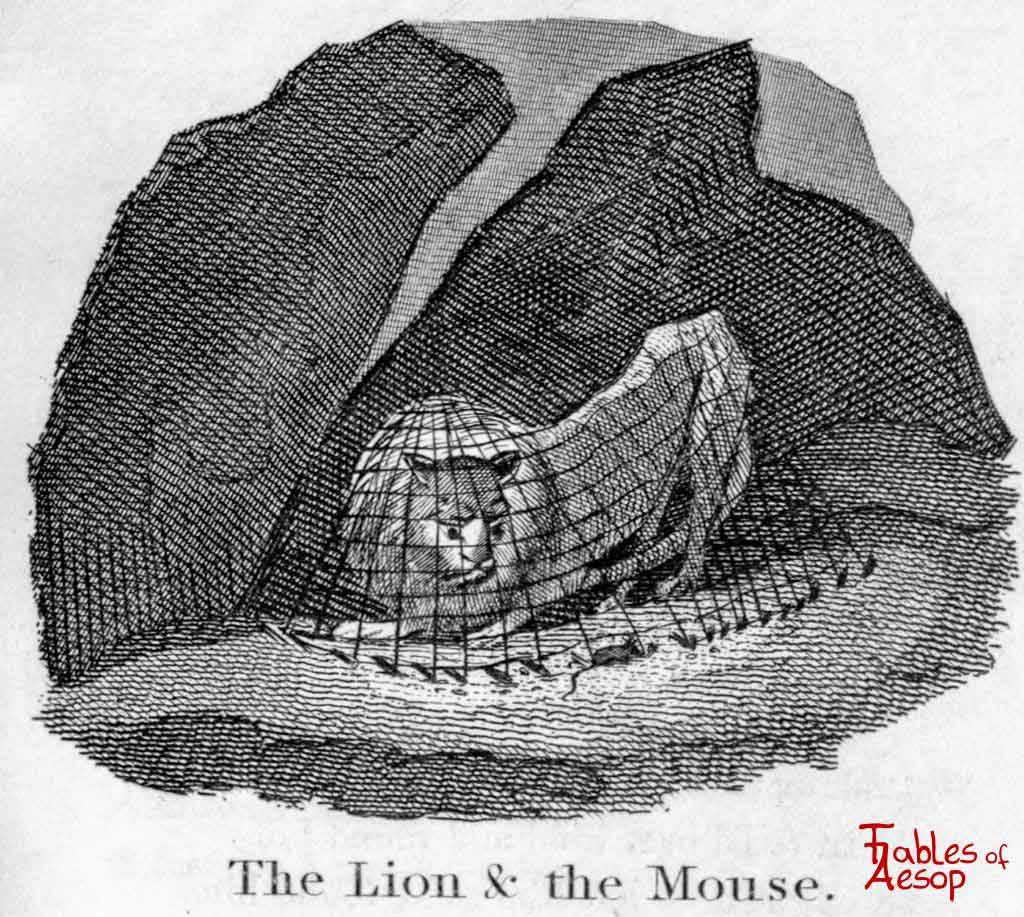The Lion and The Mouse - Fables of Aesop