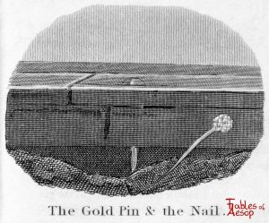 Taylor - Gold Pin and Nail 0201