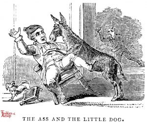 Whittingham - Ass and Little Dog