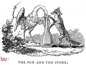 Whittingham - Fox and Stork