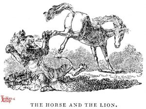 Whittingham - Horse and Lion
