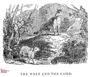 Whittingham - Wolf and Lamb
