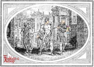 Bewick-0115-Aesop-and-Impertinent-Fellow